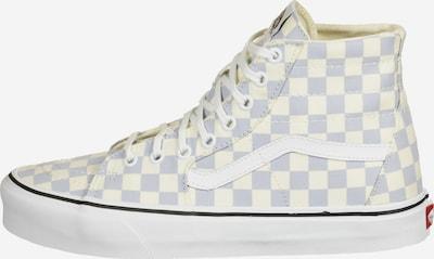 VANS Sneaker 'SK8-Hi Tapered' in himmelblau / pastellgelb / weiß, Produktansicht