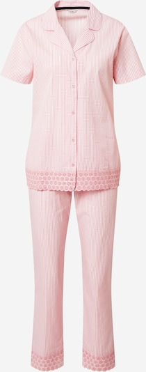 Pijama 'CANDITA' ESPRIT pe roz / alb, Vizualizare produs