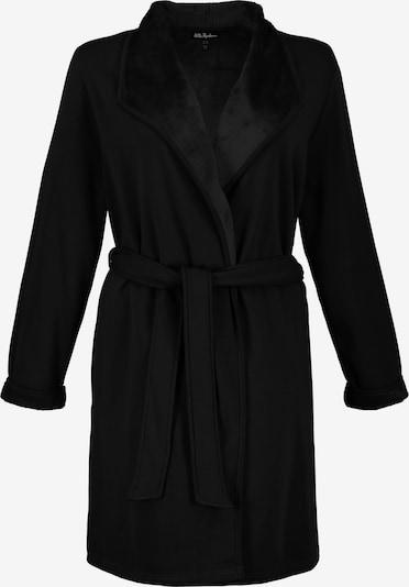 Ulla Popken Bademantel in schwarz, Produktansicht