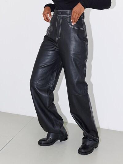 LeGer by Lena Gercke Broek 'Mia' in de kleur Zwart, Modelweergave