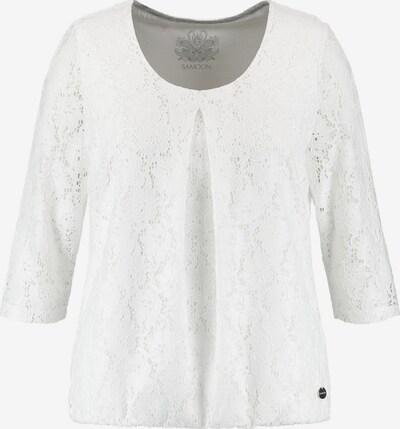 SAMOON Shirt in weiß, Produktansicht