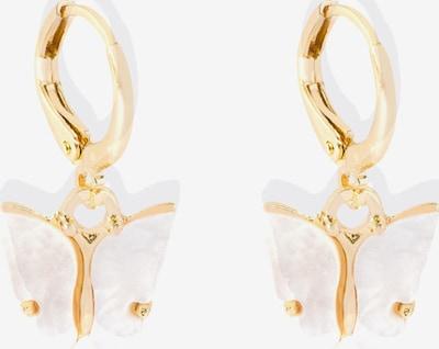 Heideman Ohrschmuck 'Papilio' in gold, Produktansicht