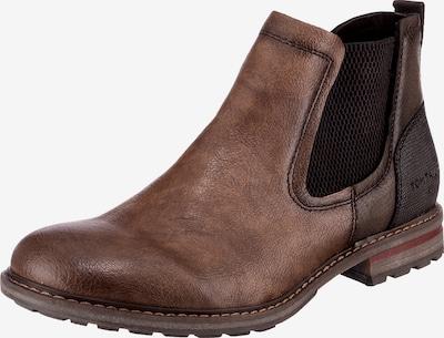TOM TAILOR Chelsea boots in de kleur Bruin, Productweergave