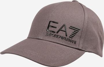 EA7 Emporio Armani Czapka z daszkiem w kolorze szary