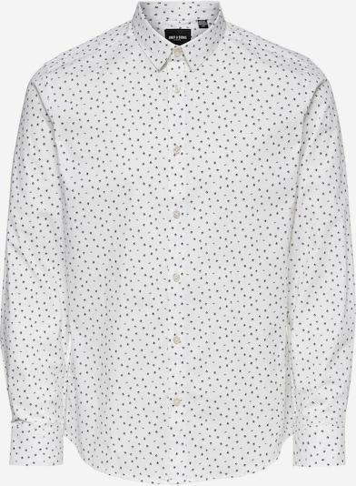 Only & Sons Hemd in schwarz / weiß, Produktansicht