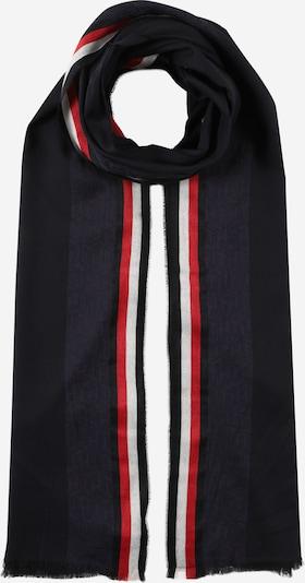 TOMMY HILFIGER Šál - námornícka modrá / tmavomodrá / červená / biela, Produkt