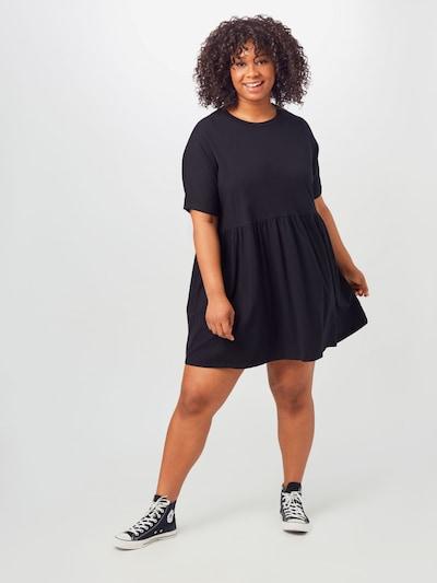 Noisy May Curve Kleid 'KERRY' in schwarz, Modelansicht