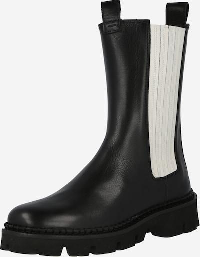 Donna Carolina Klasiski zābaki 'Bootie', krāsa - melns / balts, Preces skats