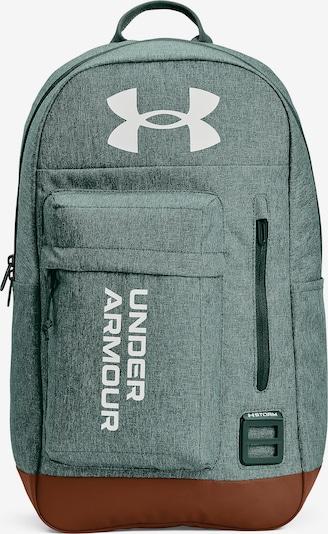 UNDER ARMOUR Sportrucksack ' Halftime ' in jade / weiß, Produktansicht