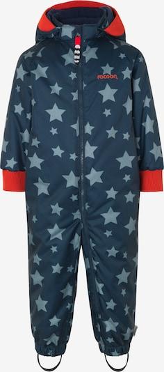 Racoon Outdoor Functioneel pak 'Konrad' in de kleur Nachtblauw / Mintgroen, Productweergave