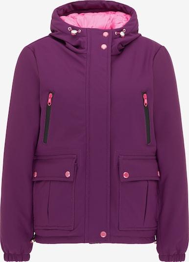 MYMO Winterjas in de kleur Bessen / Lichtroze, Productweergave