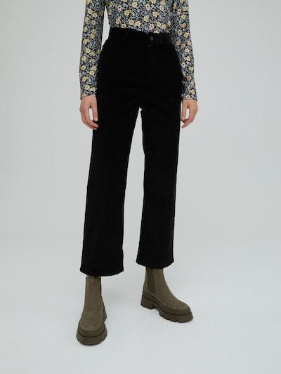 EDITED Broek 'Arden' in de kleur Zwart, Modelweergave