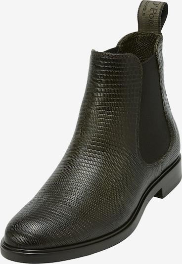 Marc O'Polo Chelsea Boots in dunkelgrün / schwarz, Produktansicht