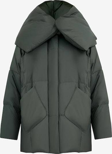 Finn Flare Daunenjacke in dunkelgrün, Produktansicht