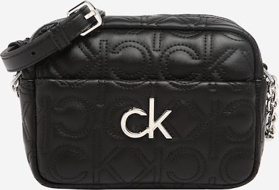 Calvin Klein Torba za čez ramo | črna / srebrna barva, Prikaz izdelka