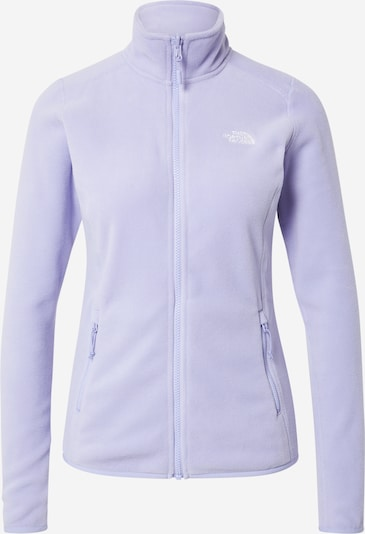 THE NORTH FACE Chaqueta polar funcional '100 Glacier' en lavanda / blanco, Vista del producto