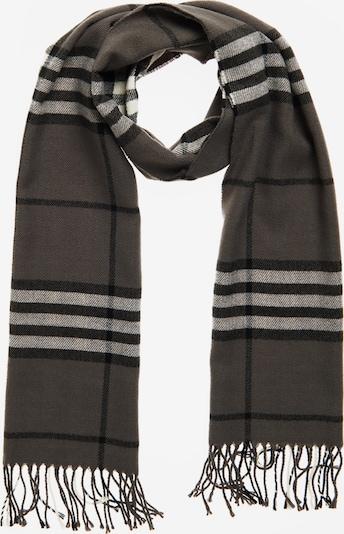 Superdry Sjaal in de kleur Antraciet / Zwart, Productweergave