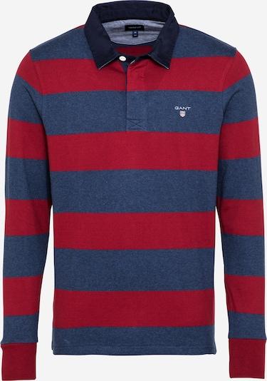 GANT Poloshirt in dunkelblau / weinrot, Produktansicht
