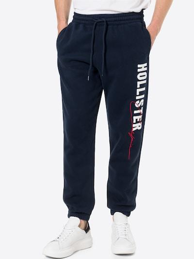 HOLLISTER Hose in navy / rot / weiß, Modelansicht