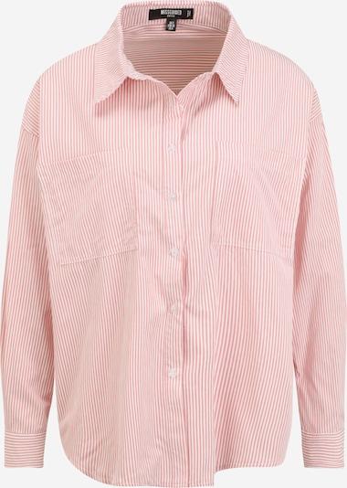 Missguided Petite Bluse in pink / weiß, Produktansicht