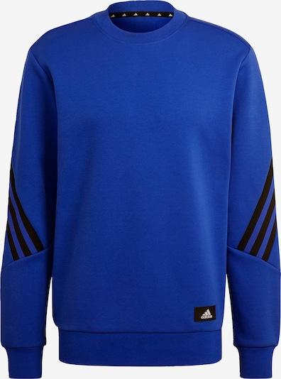 ADIDAS PERFORMANCE Sportsweatshirt in blau / schwarz, Produktansicht
