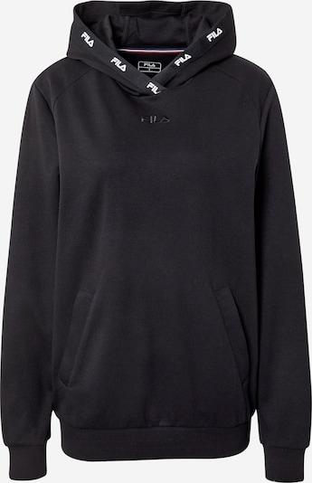 FILA Sportief sweatshirt 'Carl' in de kleur Zwart / Wit, Productweergave