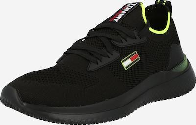 Sneaker low Tommy Jeans pe galben neon / roșu / negru / alb, Vizualizare produs