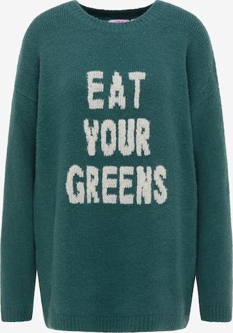 MYMO Oversizegenser i grønn