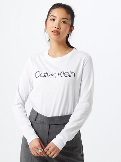Marškinėliai iš Calvin Klein , spalva - juoda / balta, Modelio vaizdas