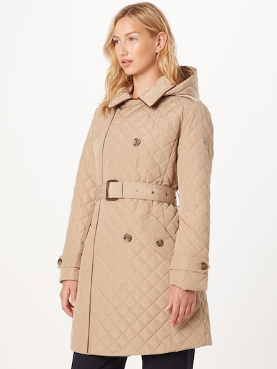 Lauren Ralph Lauren Přechodný kabát - světle hnědá, Model/ka