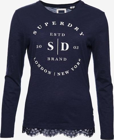 Superdry Shirt in marine, Produktansicht