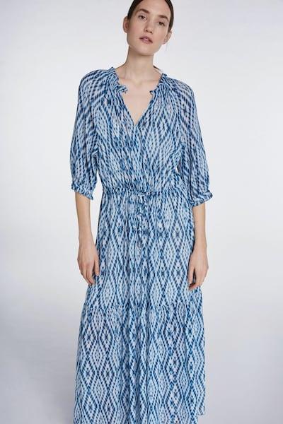 SET Kleid in blau / weiß, Modelansicht