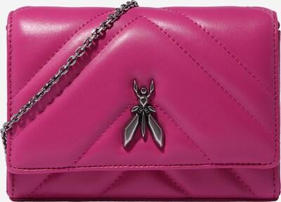 PATRIZIA PEPE Olkalaukku 'BORSA' värissä vaaleanpunainen / hopea, Tuotenäkymä