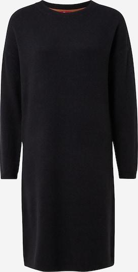 s.Oliver Gebreide jurk in de kleur Zwart, Productweergave