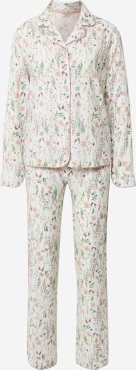 Esprit Bodywear Pajama 'ARMATHA' in Light green / Pink / Off white, Item view
