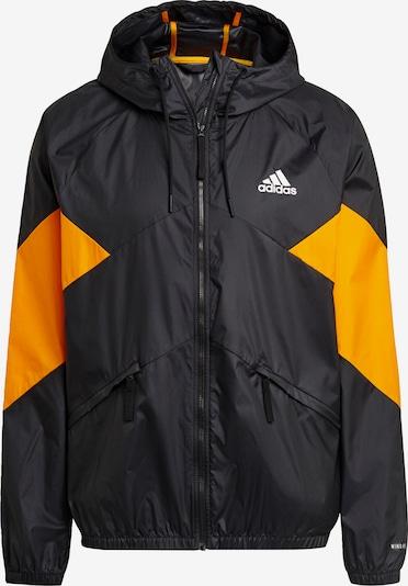 ADIDAS PERFORMANCE Jacke in orange / schwarz, Produktansicht