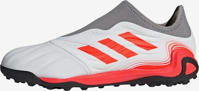 ADIDAS PERFORMANCE Soccer Cleats 'Copa Sense.3' in Grey / Orange red / White, Item view
