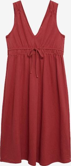 MANGO Kleid 'DOMENICO' in rostrot, Produktansicht