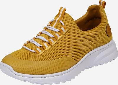 RIEKER Zapatillas deportivas bajas en mostaza, Vista del producto