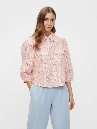 Y.A.S Bluse 'Ricca' in mischfarben / rosa, Modelansicht