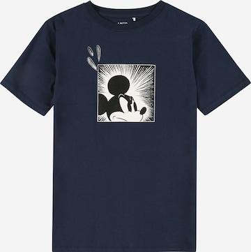 T-Shirt LMTD en bleu