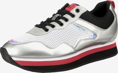 ARMANI EXCHANGE Sneaker in rot / schwarz / silber / weiß, Produktansicht