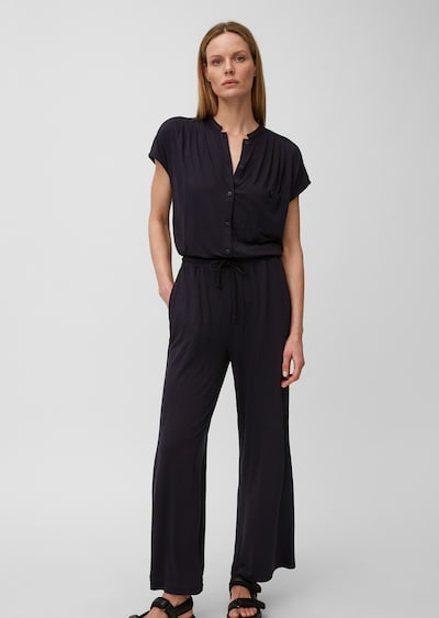 Marc O'Polo Jumpsuit in de kleur Nachtblauw, Modelweergave