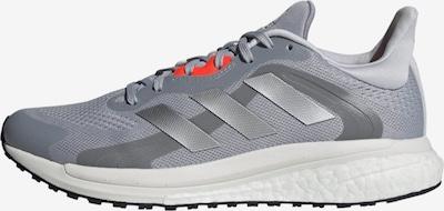 ADIDAS PERFORMANCE Παπούτσι για τρέξιμο 'SolarGlide 4' σε γκρι / ανοικτό γκρι / σκούρο γκρι / ανοικτό κόκκινο, Άποψη προϊόντος