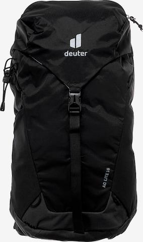 DEUTER Sports Backpack in Black