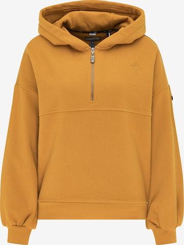 DreiMaster Vintage Sweatshirt in Gelb