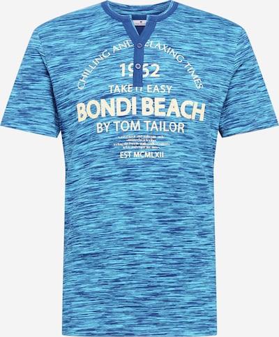 TOM TAILOR T-Shirt en bleu / bleu clair / jaune, Vue avec produit