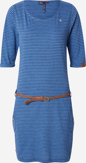 Ragwear Jurk 'TANYA' in de kleur Marine / Duifblauw / Karamel, Productweergave