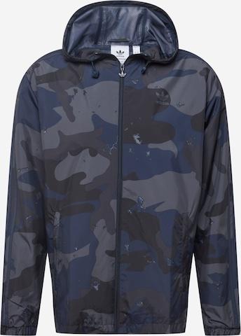ADIDAS ORIGINALS Φθινοπωρινό και ανοιξιάτικο μπουφάν σε μπλε