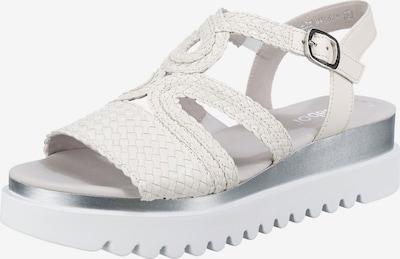 GABOR Sandaletten in weiß, Produktansicht